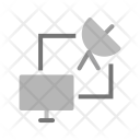 Satellite connection Icon