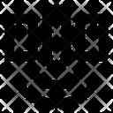 Communication Technology Satellite Connection Icon