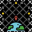 Satellite Coordination Icon