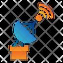 Communication Radar Signal Icon
