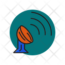 Satellite Signal Space Icon