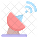 Satellite Dish Technology Icon