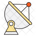 Dish Satellite Communication Icon