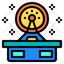 Satellite Dish Aerospace Alien Icon