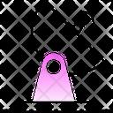 Dish Satellite Transmit Icon