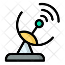 Satellite Dish Satellite Tower Signal Tower Icon