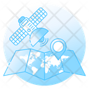 Communication Satellite Satellite Navigation Space Antenna Icon