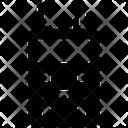 Satellite Phone Military Communication Police Radio Icon