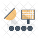 Satellite Communication Dish Icon