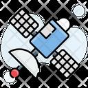 Network Satellite Technology Icon