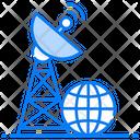 Satellite Tower Radar Signal Tower Icon