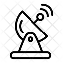 Internet Network Satellite Icon