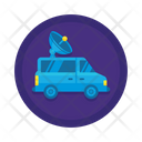 Satellite Truck Icon