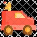 Satellite Van Icon