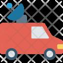 Satellite Van Vehicle Transport Icon
