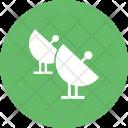 Satellites Radar Signal Icon