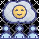Customer Emotion Happy Icon