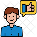Isatisfied Customers Satisfaction Customer Customer Review Icon