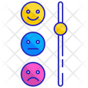 Satisfaction meter Icon