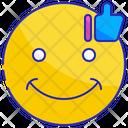 Happy Positive Satisfied Icon