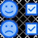 Satisfy Emotions Tick Mark Icon