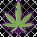 Sativa Hemp Leaf Icon