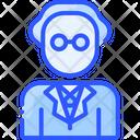 Satoshi Nakamoto People Bitcoin Icon