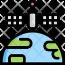 Sattelite Map Navigation Icon