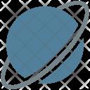 Saturn Astronomy Explore Icon