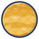Saturn Space Planet Icon
