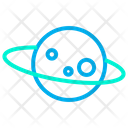 Saturn Planet Planet Space Icon