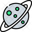 Astronomy Space Planet Icon