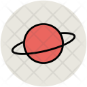 Saturn Planet Celestial Icon