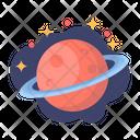 Saturn Saturnus Planet Icon