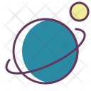 Saturn Galaxy Sputnik Icon