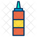 Sauce Bottle Fast Food Icon