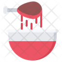 Sauce Chicken Leg Icon