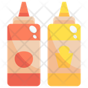 Sauce Sauce Bottle Ketchup Icon