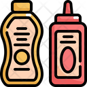 Sauce Bottle Cafe Icon