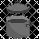 Sauce Pan Frying Pan Condiment Icon