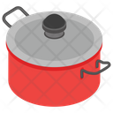 Cooking Pot Casserole Saucepan Icon