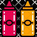 Sauces Take Away Condiments Icon