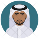 Saudi Arabian Man Icon