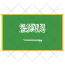 Saudi Arabia Flag Country Icon
