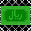 Saudi Riyal Banknote Country Icon