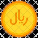 Saudi Riyal Coin Currency Icon