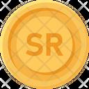 Saudi Riyal Coin Saudi Riyal Riyal Icon
