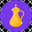 Saudi Teapot Arabic Teapot Dallah Icon