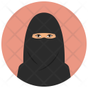 Saudi Woman Icon