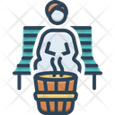 Sauna Bath Bathhouse Icon